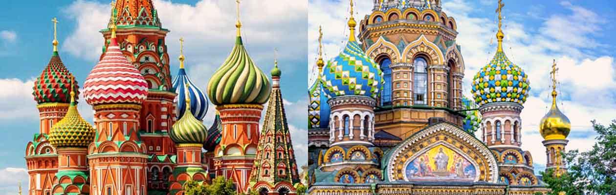 Moskau-St-Petersburg Reisen