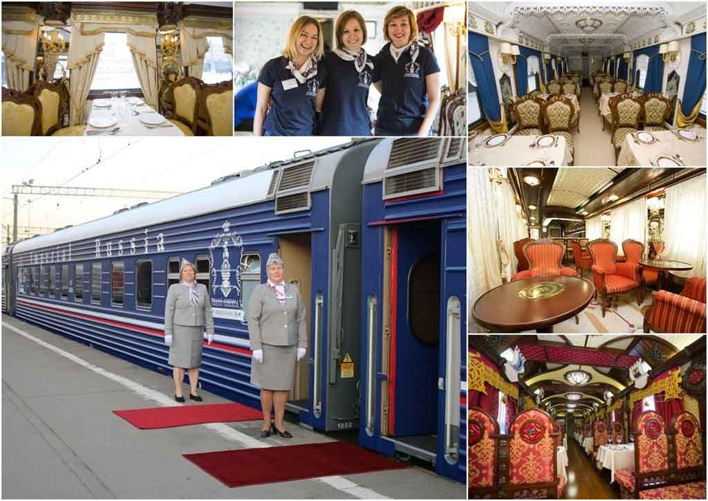 Sonderzug Transsibirische Eisenbahn Imperial Russia