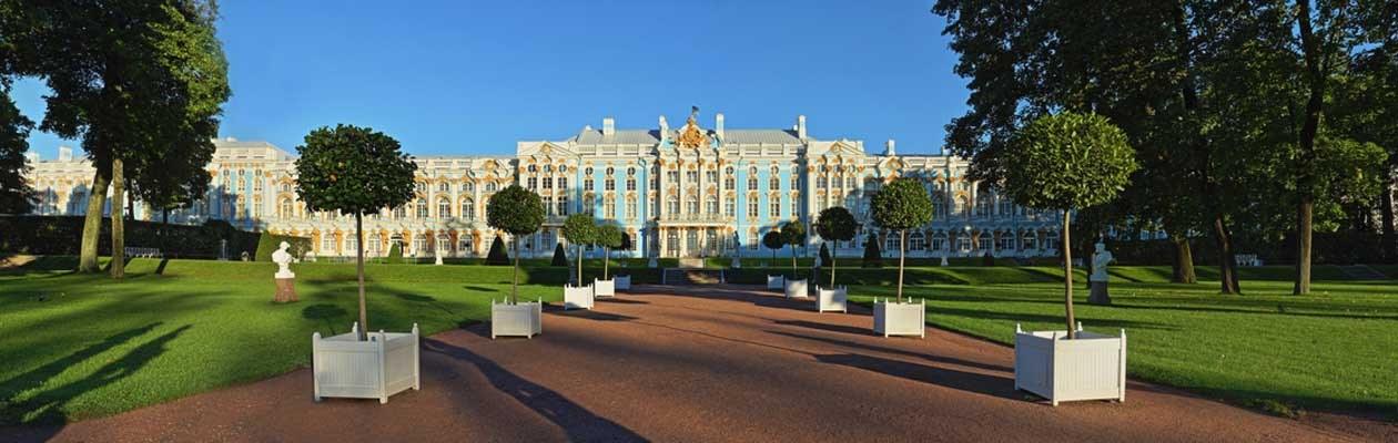 St. Petersburg Reisen.Puschkin. Katharinenpalast.