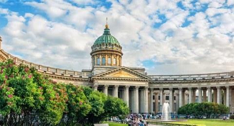 Kasaner Kathedrale in St. Petersburg
