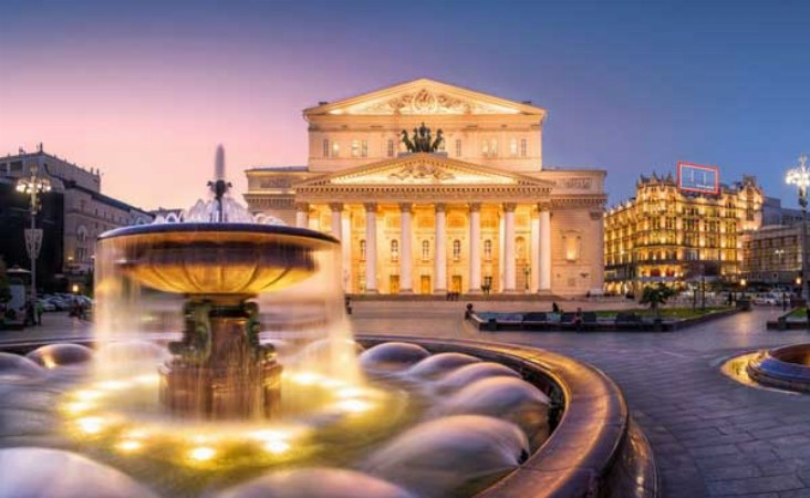Bolshoi Theater in Moskau