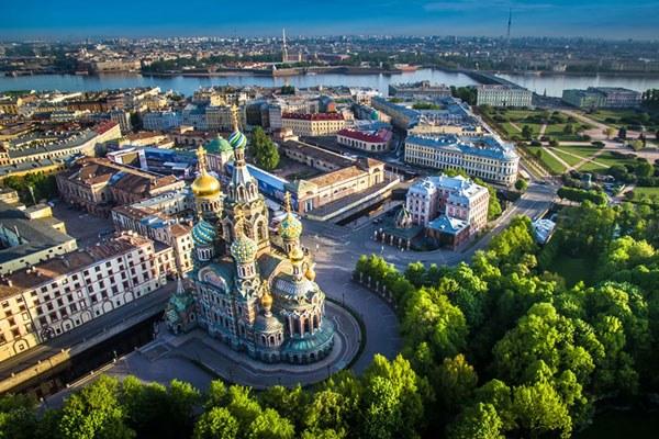 St. Petersburg Reise. Auferstehungskathedrale.