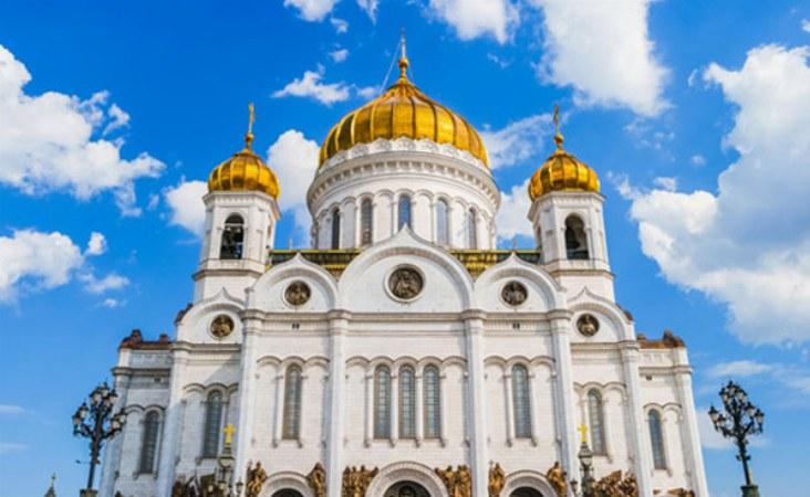 Moskau Reise. Erlöser Kathedrale.