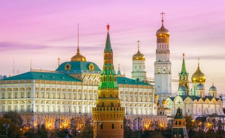 Moskau Reise. Kreml.