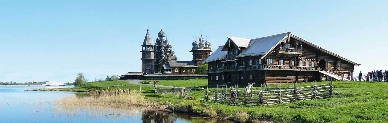 Flussfahrten Russland.