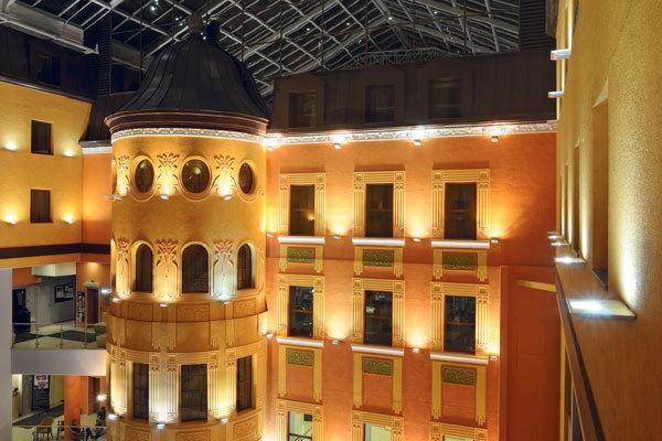 St. Petersburg Reisen. Hotel Dostoevsky.