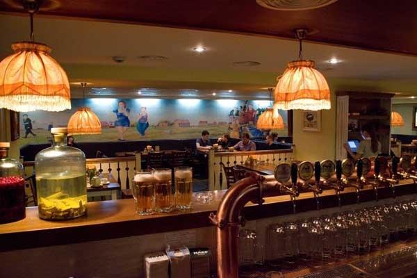 Hotel Moskva Bierrestaurant