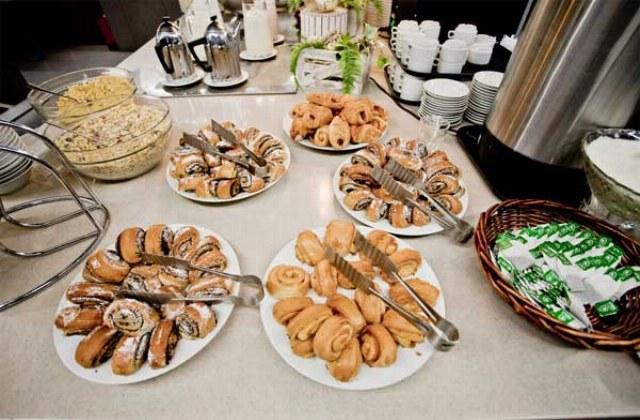 Frühstücksbuffet St. Petersburg Hotel Moskva