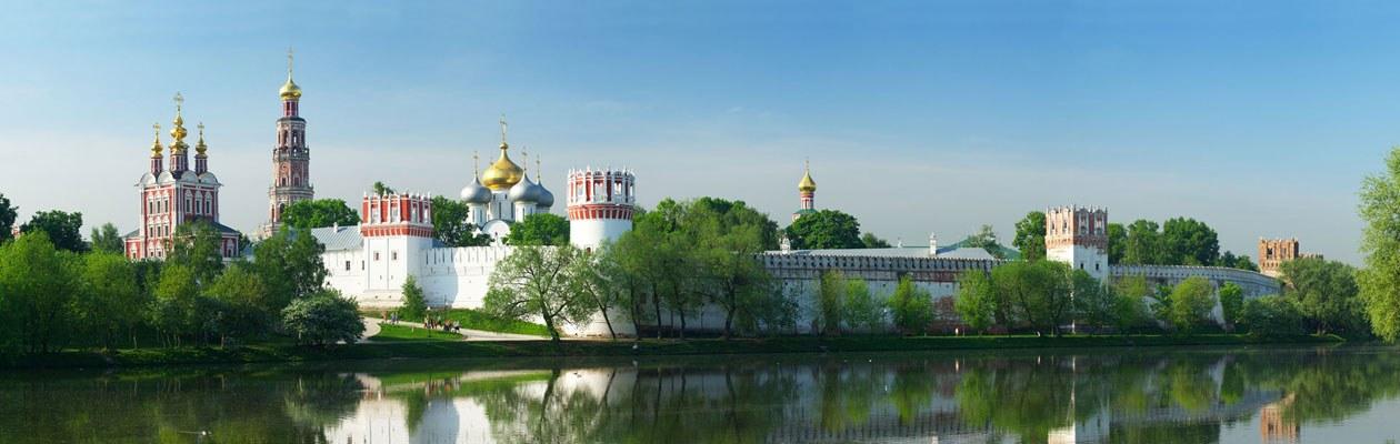 Moskau Reise. Neujungfrauenkloster.
