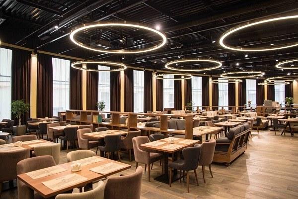 Hotel Oktyabrskaya Restaurant