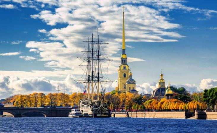 Peter-Paul-Festung. St. Petersburg.