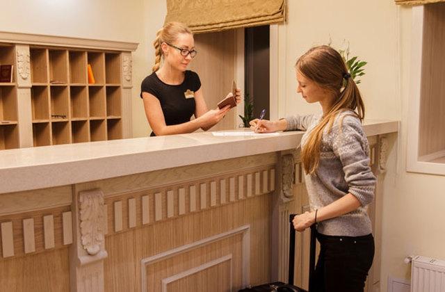Moskau - St. Petersburg Reise. Hotel Starosadsky.